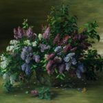 Lilac. 2005. Oil on canvas