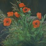 1999 painting Poppies