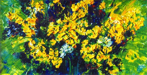 Flowers of Shoria. 1996. Oil on canvas