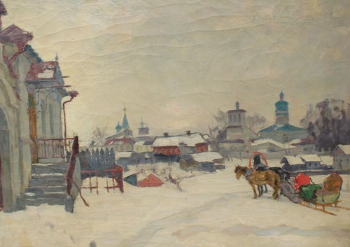 Winter Pskov