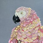 Creation by English textile artist Zara Merric