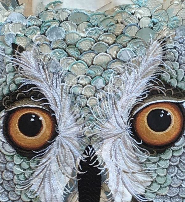 Detail of owl