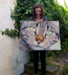 Sarah Jane Connors bead painting art