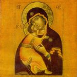 Our Lady of Vladimir. 1652. The State Tretyakov Gallery