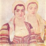 Sisters from the village of Divl. National Art Gallery. Sofia