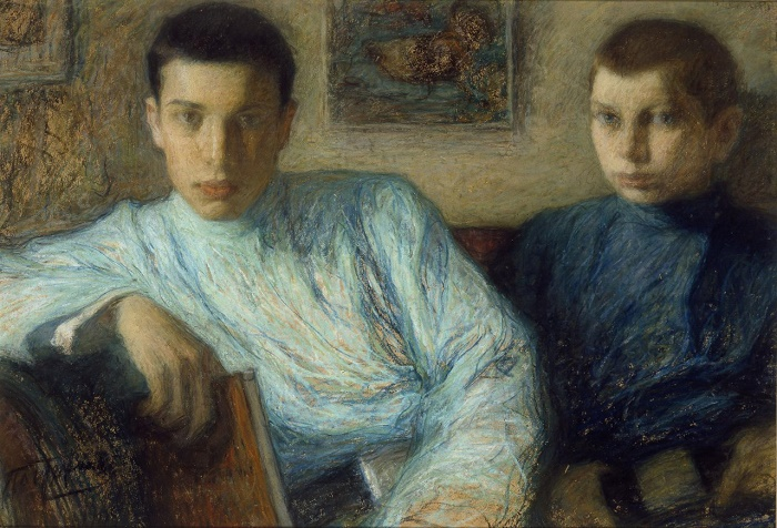 Sons Boris and Alexander