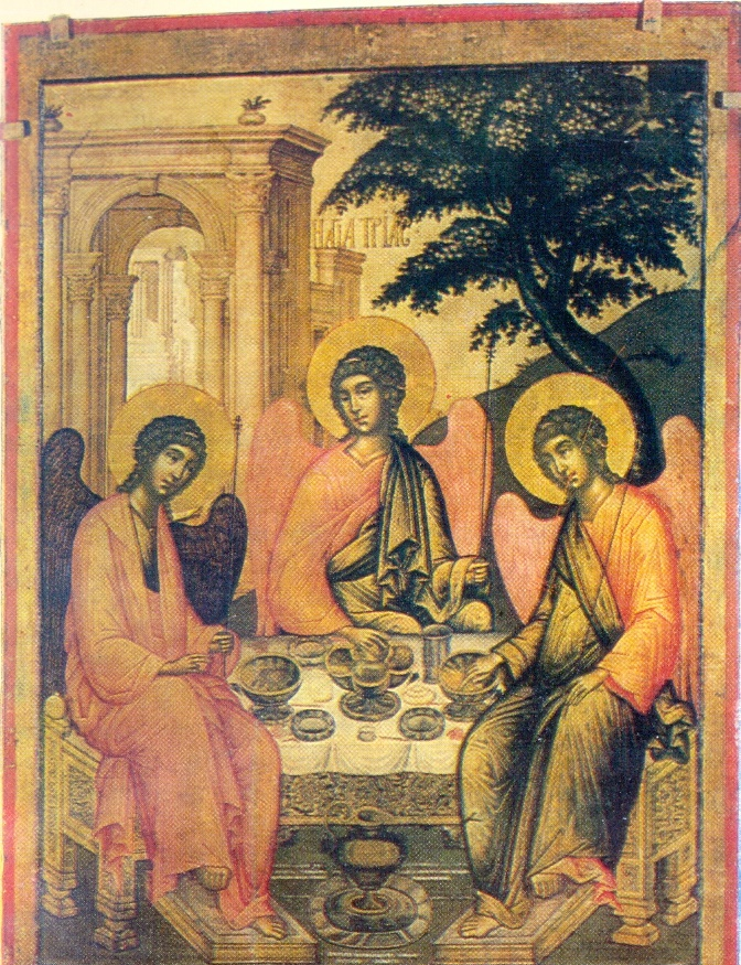 Trinity. 1671. The State Russian Museum