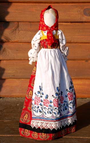 Beautiful folk doll
