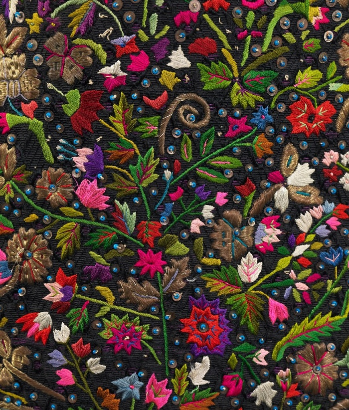 Detail of Apron. Hungary, the last quarter of the 19th century. The Metropolitan Museum of Art
