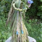 Herb and wildflower doll