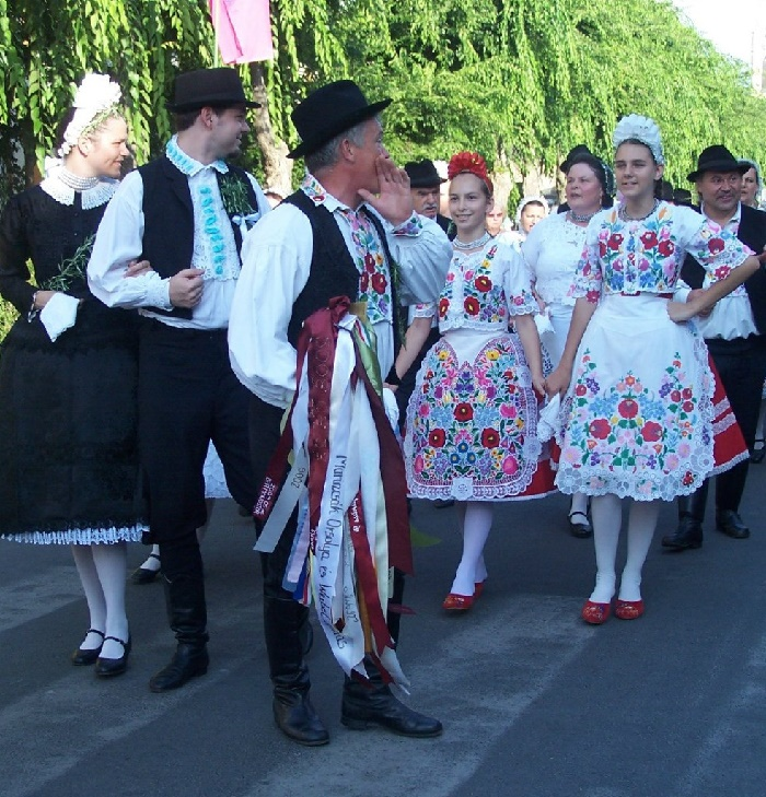 National folk costumes in Hungary