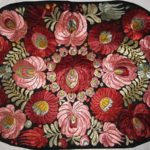 Silk thread embroidery