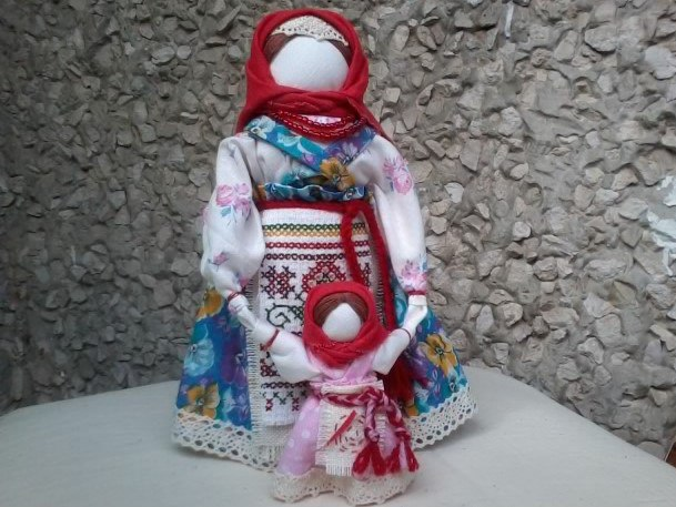 Veduchka folk doll