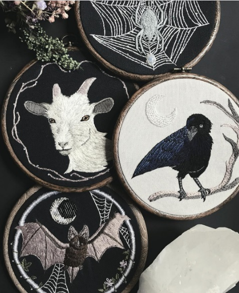 Insanely gorgeous art of embroidery