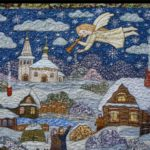 Patchwork Panno Christmas
