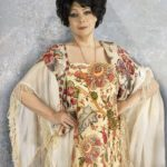 Alla Yoshpe in Photo reproduction of the painting by Kees van Dongen 'Spanish'. 1905-1906