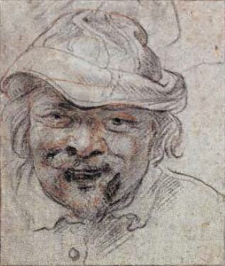 Jacob Jordaens. Self-portrait. 1630-1632