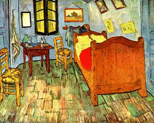 Bedroom of Van Gogh, 1888