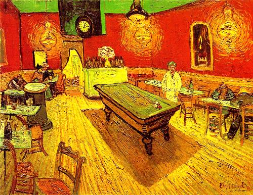 Night Cafe. Arles, September 1888