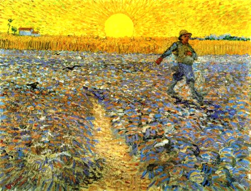 Sower at sunset, 1888