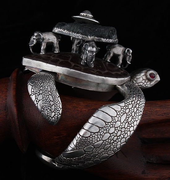 Jewelry Balagan by Russian artist Kirill