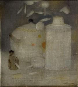 Dutch painter Jan Mankes