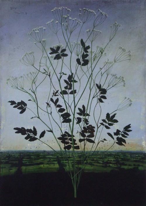 Michael Canning, Almagest, oil on gessoed wood panel - Art Kaleidoscope
