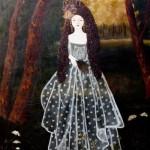 Painting by German artist Anne Siems