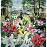 Japanese quilt artist Hiroko Miyama