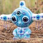 Akivni. Windtalker. Krakazyabra toy by Ukrainian artist Maryana Kopylova
