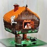 Cake art by self-taught pastry artist Inna Bu