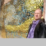Brass door handles Starry Night by David Goldberg