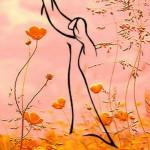 Feel the line painting by Tatyana Markovtseva