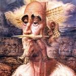Illusion painting by Octavio Ocampo