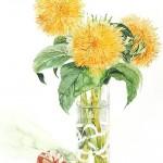 Japanese watercolorist Ayako Tsuge