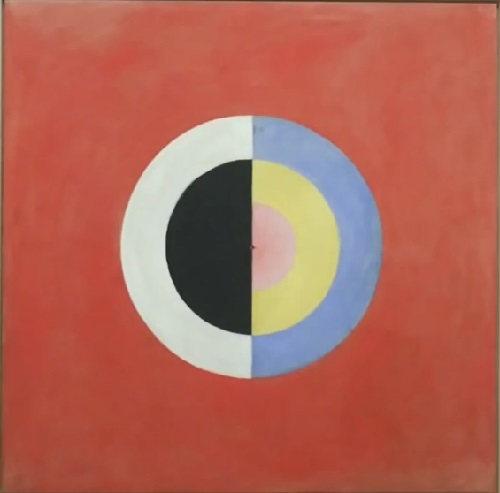 Swedish abstract painter Hilma af Klint