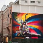 Brazilian street artist Eduardo Kobra