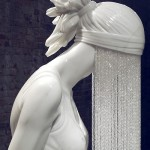Bronze and marble sculpture by Kevin Francis Gray