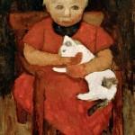 German expressionist painter Paula Modersohn-Becker