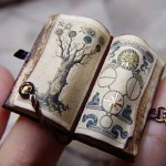 Medieval Miniature books by Ericka VanHorn