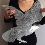Paper artist Maude White