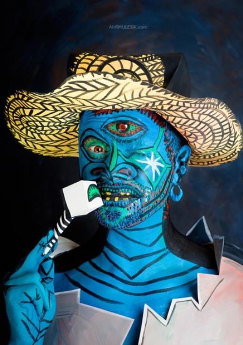 Photo project 'Pablo Picasso' (2) - Art Kaleidoscope
