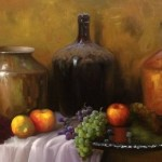 Still life painting by Jorge Maciel