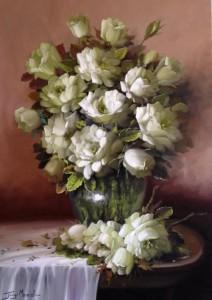 Still life painting by Jorge Maciel