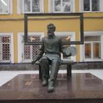 Russian sculptor Dmitry Kravtsov
