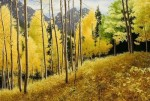 Autumn paintings by Alexander Volkov