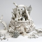 Ceramic sculpture by Katharine Morling