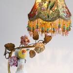 Christine Kilger lamp art