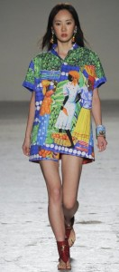 Culture of African continent in summer 2015 fashion collection by Italian designer Stella Jean
