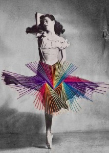 Embroidered dance by Jose Romussi